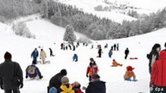 Winterlandschaft Schwarzwald