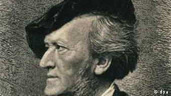 Picture of German composer Richard Wagner