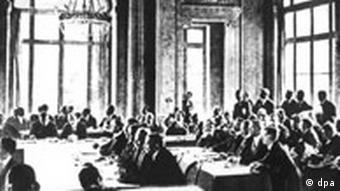 Kalenderblatt 1. Weltkrieg - Versailler Vertrag
