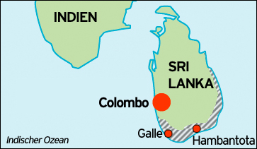 Tsunami 2004 Sri Lanka Karte.Sri Lankas Verpasste Chance Asien Dw 21 12 2009