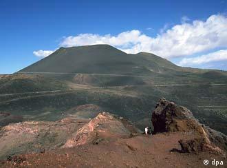 Volcán de San Antonio, en La Palma.
