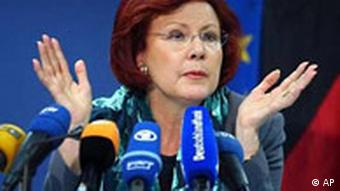 Die frühere Entwicklungshilfeministerin Heidemarie Wieczorek-Zeul