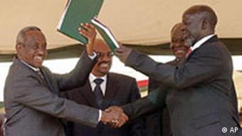 Sudan Friedensvertrag für den Südsudan unterzeichnet
