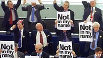 EU Parlament verabschiedet EU Verfassung