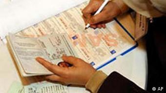 Wahlen Irak Wählerregistrierung in London