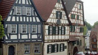 Geburtshaus von Friedrich von Schiller in Marbach am Neckar