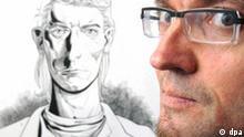 Horus zeichnet Schiller Comic