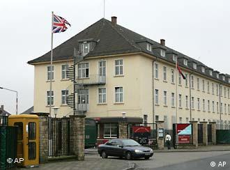 Британский гарнизон в Оснабрюке