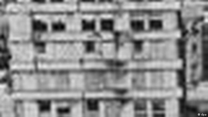 Центр Хиросимы через год после бомбардировки