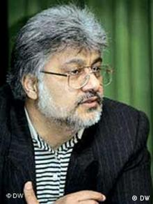 Isa Saharkhiz, iranischer Journalist und Mitglied des Zentralrats des Verbands zur Verteidigung der Pressefreiheit im Iran