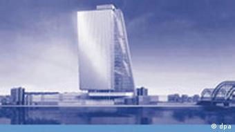 Modelo digital del diseño para el Banco Cental Europeo, de Coop Himmelb(l)au.