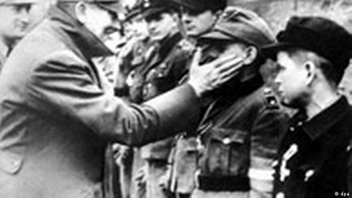 Hitler with boys