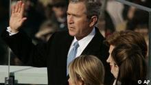 Bush zum zweiten Mal vereidigt