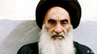 Großajatollah Ali Husseini el Sistani