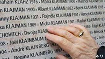 BdT: Mauer der Namen mit Namen von Holocaustopfern in Frankreich, Wiedereröffnung Holocaustmuseum in Paris