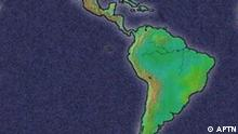 Karte von Lateinamerika