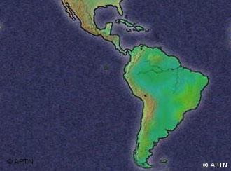 Lateinamerika Karte Länder.Noch Ein Bündnis In Lateinamerika Welt Dw 02 12 2011