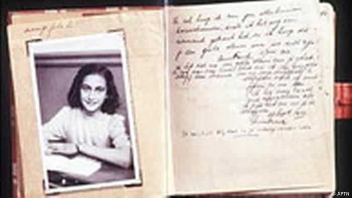 Das Original von Anne Franks Tagebuch