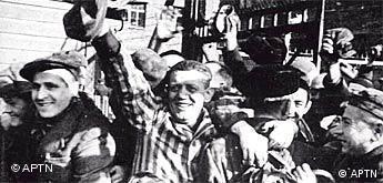 Freies Bildformat: Befreiung des Konzentrationslagers Auschwitz
