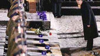 Gedenken an Befreiung von Auschwitz vor 60 Jahren