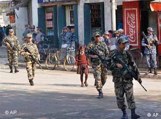 Ausnahmezustand in Nepal