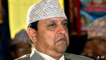 Gyanendra König von Nepal