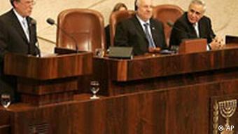 Horst Köhler in Israel Rede vor der Knesset