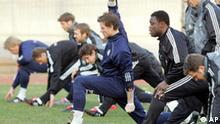 Deutsche Nationalmannschaft trainiert