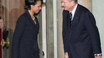 Rice bei Chirac