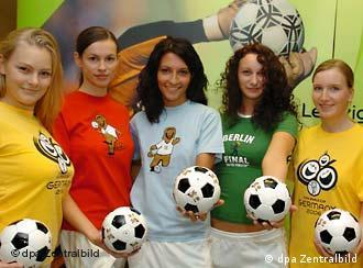 Немецкие футболисты разделись