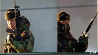 Nordkorea, Südkorea, Grenzschutz