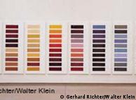 'Zehn grosse Farbtafeln', 1966/1971/1972, esmalte sobre tela pintada de branco
