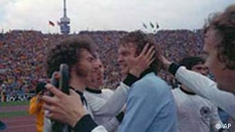 WM Finale 1974 Deutschland gegen Holland