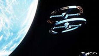 Szene aus Stanley Kubricks Science-Fiction-Klassiker 2001: Odysee im Weltraum