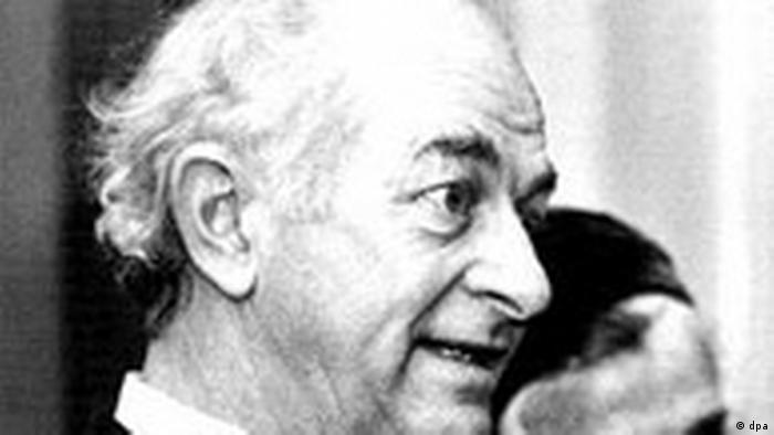 Linus Pauling, der amerikanische Chemiker (dpa)