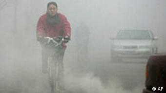 Smog in Peking, Quelle: AP