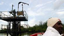 Öl im Niger Delta Nigeria