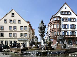 La fuente Kaiserbrunnen en Kaiserslautern