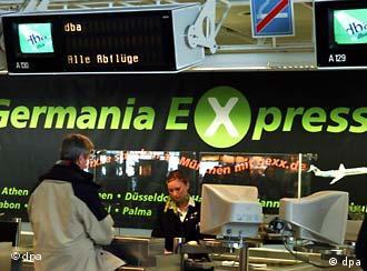 Среди дешевых авиалиний - Germania Express