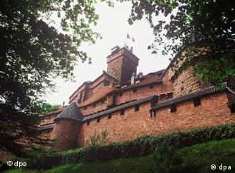 Haut-Koenigsbourg in the Alsace