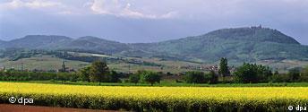 Frankreich Elsass Landschaft