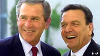 Galerie Besuche von US-Präsidenten seit 1945 George W Bush