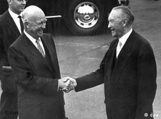 Američki predsjednik Eisenhower i kancelar Konrad Adenauer 1959.