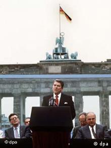 Galerie Besuche von US-Präsidenten seit 1945 Ronald Reagan