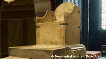 Трон Карла Великого в Ахенском соборе