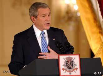 Bush in Brussels: Extending the olive branch