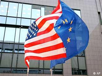 US & EU Flags