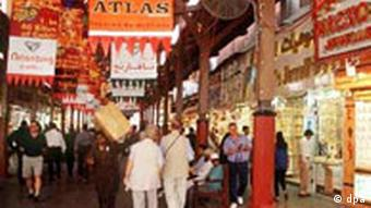 Gold-Souk in Dubai Touristen, Foto: ap