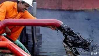 Ölförderung in Indien