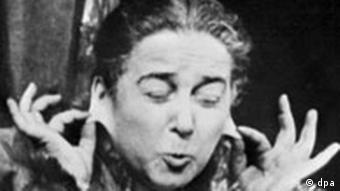 Therese Giehse als Mutter Courage Kalenderblatt